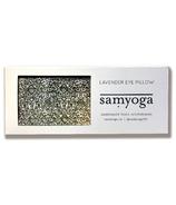 Samyoga Lavender Scented Eye Pillow Motif Green New Forest