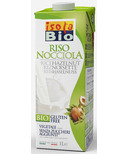 Isola Bio Rice Hazelnut Beverage
