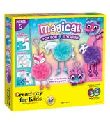 Creativity For Kids Magical Pom Pom Keychains