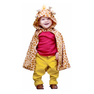 Great Pretenders Giraffe Toddler Cape