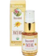 Badger Unscented Face Oil For Sensitive Skin