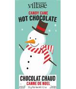 Gourmet du Village Retro Snowman Candy Cane Mini Hot Chocolate Mix