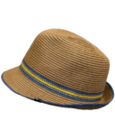 Calikids Kid's Straw Hat Tan Combo
