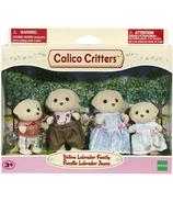 Calico Critters Yellow Labrador Family
