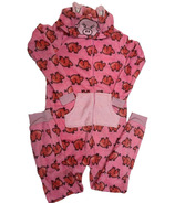 Karmin Fleece Hooded Children Onesie Pig