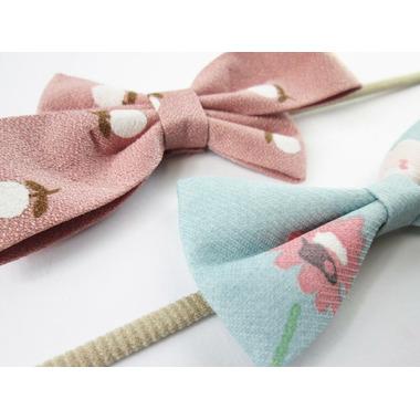 Baby Wisp Acorn Floral Headband