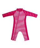 Stonz Infant Sun Suit Fuchsia Shark