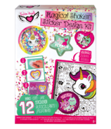Fashion Angels Sequin Shaker Sticker Design Kit with Journal