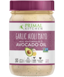 Primal Kitchen Garlic Aoili Avocado Oil Mayonnaise