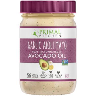Primal Kitchen Garlic Aoili Avocado Oil Mayonnaise