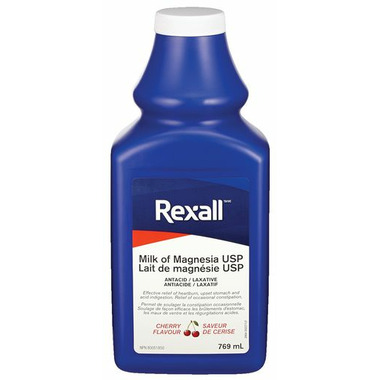 Rexall Milk Of Magnesia Cherry