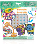 Crayola Glitter Dots Key Chains