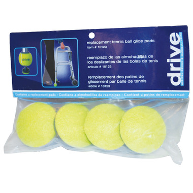 Drive Medical Tennis Ball Glide Pads