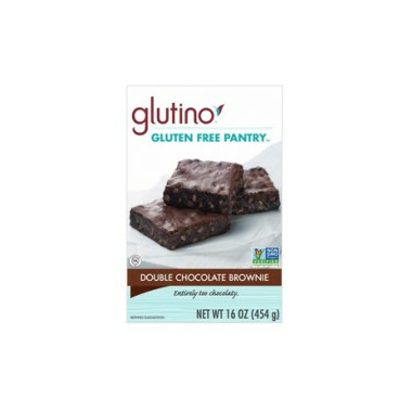 Glutino Gluten Free Double Chocolate Brownie Mix