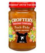 Crofters Organic Peach Premium Spread