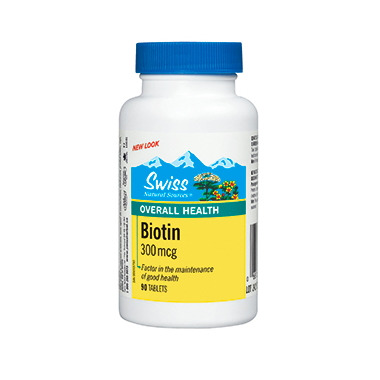 Swiss Natural Sources Biotin 300mcg