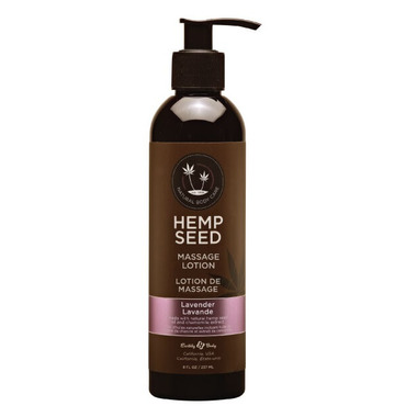 Earthly Body Hemp Seed Massage Lotion Lavender