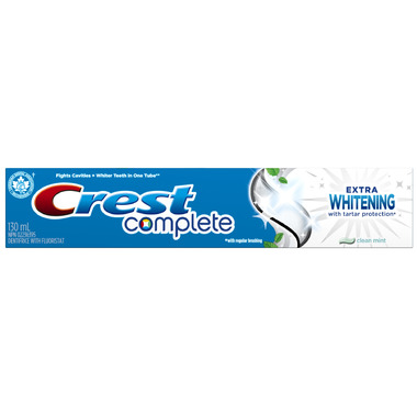 Crest Complete Extra Whitening Toothpaste