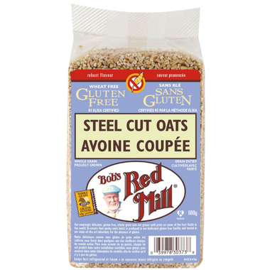 Bob\'s Red Mill Gluten Free Steel Cut Oats