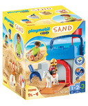Playmobil 1.2.3 Sand Knight's Castle Sand Bucket