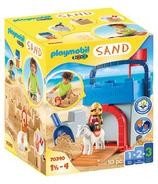 Playmobil 1.2.3 Sand Knight's Castle Sand Bucket