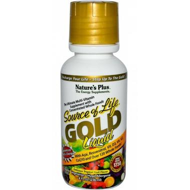 Nature\'s Plus Source of Life Gold Liquid