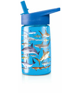 Crocodile Creek Sharks Tritan Drinking Bottle
