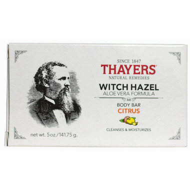 Thayers Witch Hazel Body Aloe Vera Bar Citrus