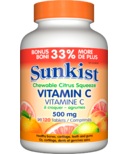 Sunkist Vitamin C Chewable Citrus Squeeze