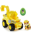 Paw Patrol Dino Rescue Rubble's Deluxe Vehicle & Mystery Dinosaur Figure