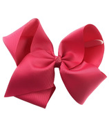 "Baby Wisp Pinch Clip Mariah 8"" Bow Camelia Rose"