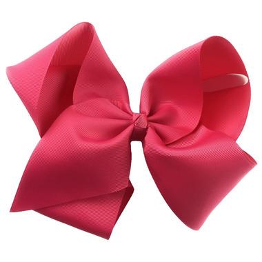 "Baby Wisp Pinch Clip Mariah 8\"" Bow Camelia Rose"