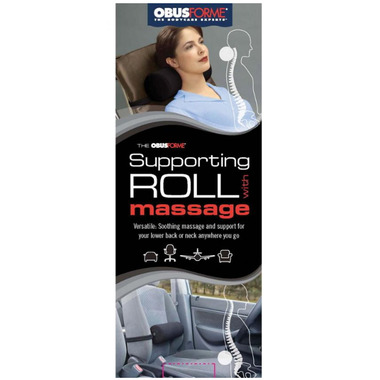 Obus Forme Supporting Roll with Massage Cushion