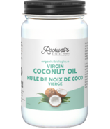 Huile de noix de coco vierge biologique Rockwell's