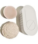 Bottle None be STRONG Travel Case Soap Dish Set