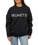 BRUNETTE The Label Brunette Core Crew Charcoal