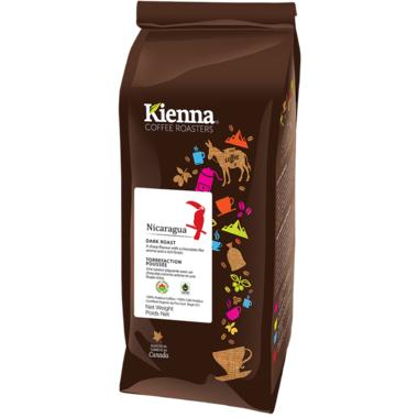 Kienna Coffee Roasters Nicaragua Whole Bean Coffee