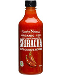 Simply Natural Organic Red Sriracha Hot Sauce