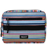 PackIt Bento Box + Container Set Blanket Stripe