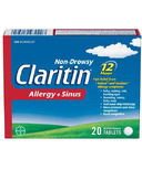 Claritin Non Drowsy Allergy + Sinus
