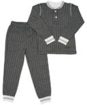 Juddlies Organic Cottage Pajamas Bear