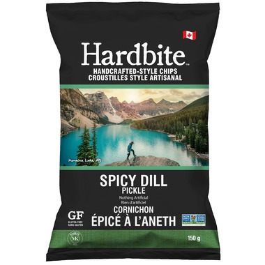 Hardbite Chips Spicy Dill Pickle