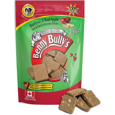 Benny Bully\'s Beef Liver Plus Apple Dog Treats
