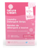 Nature Clean Laundry Detergent Strips Wildflower