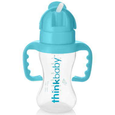 Thinkbaby Thinkster Straw Bottle Blue