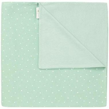 Noppies Organic Cotton Blanket Nusco Grey Mint