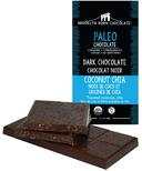 Brooklyn Born Chocolate Coconut Chia Paleo Dark Chocolate