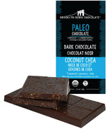 Brooklyn Born Chocolate Coconut Chia Paleo Dark Chocolate