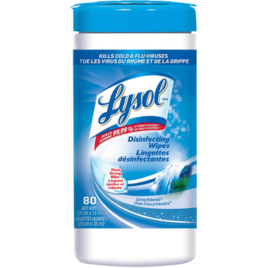 Lysol Disinfecting Wipes Spring Waterfall