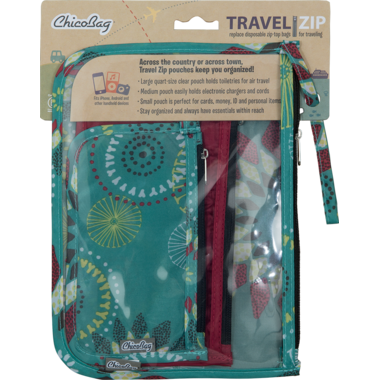 ChicoBag Travel Zip Pouches Solstice
